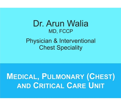 Medical, Pulmonary (Chest) and Critical Care Department